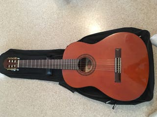 Handmade acoustic guitar