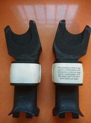 Adaptadores para Maxi-Cosi Cabrio en Bugaboo