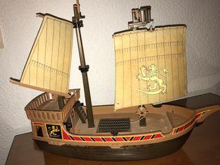 Barco pirata click plamobil