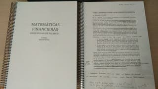Matemáticas Financieras UV