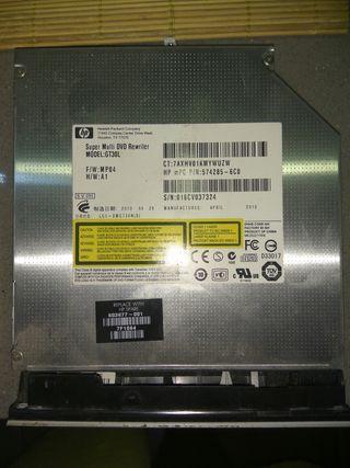 Grabadora de Dvd y Cd para portatil Sata Hp