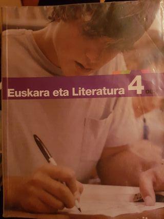 libro de euskera 4 ESO