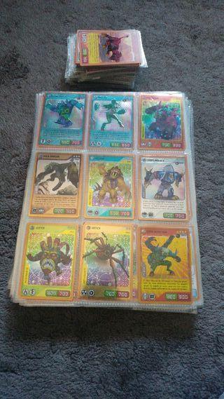 coleccion de 548 de cartas invizimal
