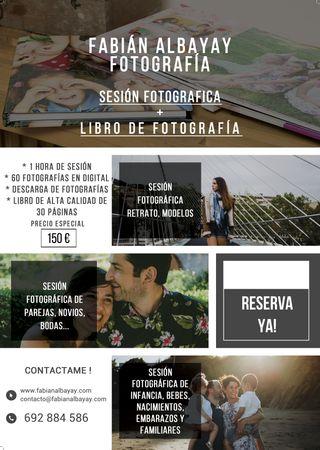 OFERTA SESIÓN & LIBROS DE FOTOS!