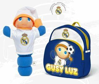 Gusyluz + mochila Real Madrid