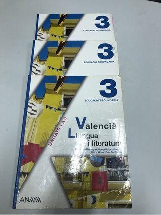 Valencia llengua y literatura