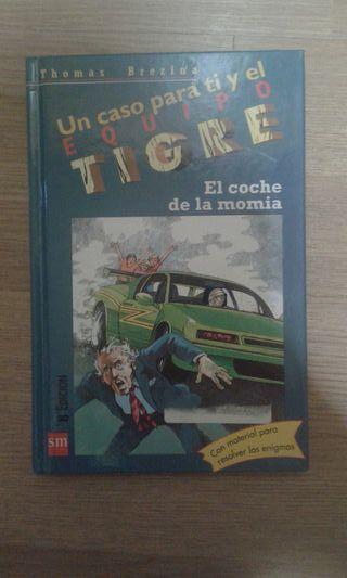 Libro lectura (el coche de la momia)