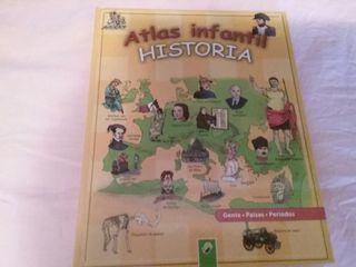 Atlas infantil historia