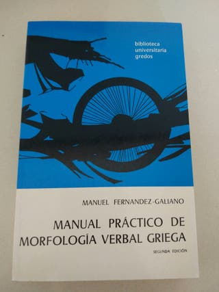 manual griego morfologia gredos
