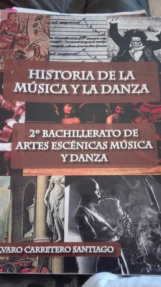 libro de historia de la musica y la danza