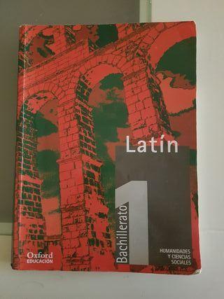 libro latin 1 de Bachillerato Oxford