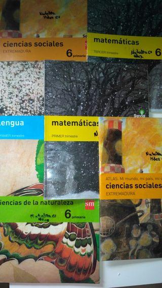 libros de texto 6 EGB
