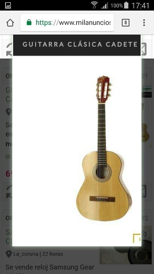 Guitarra flamenca Cadete