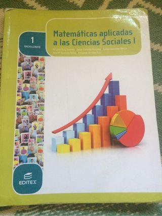Libro matematicas 1 bachiller social