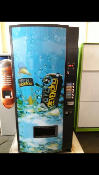 Maquina de refrescos