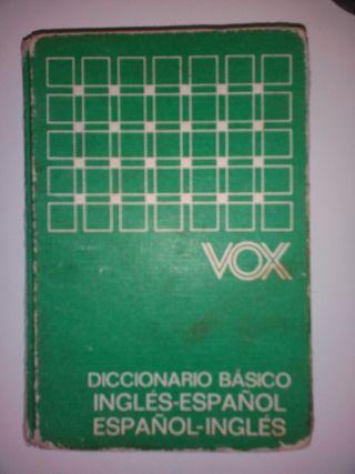 diccionario VOX ingles- español