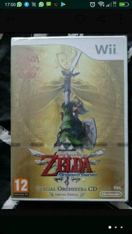 Juego Zelda Para Wii Precintado De Segunda Mano Por 60 En Motril