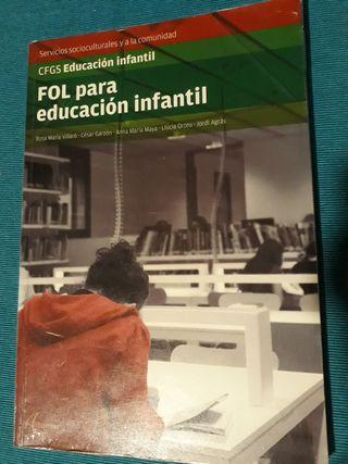 libro educación infantil FOL