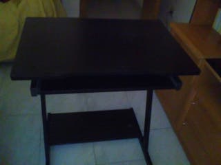Mesa escritorio negra de segunda mano por 18 en Parla wallapop