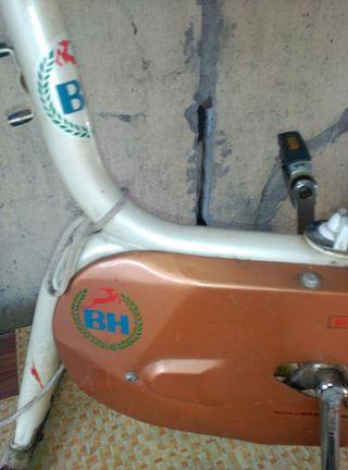 Bicicleta estática antigua BH