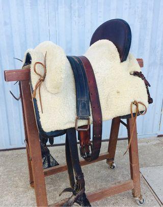 Montura/silla vaquera mixta