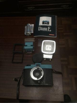 Diana F mas flash y carrete