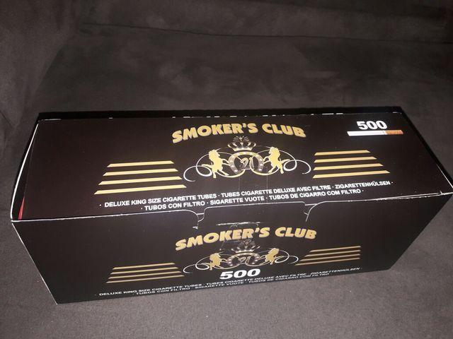 tubos para cigarros