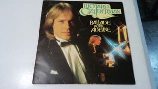 Disco de vinilo Richard Clayderman