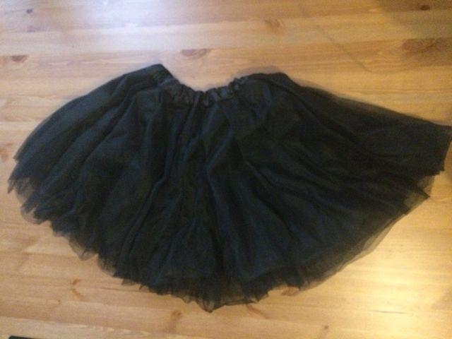 18b453149 Falda negra tutu ballet de segunda mano por 5 € en Madrid en WALLAPOP