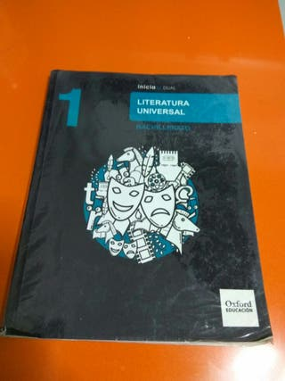 Libro de Literatura 1° bachiller