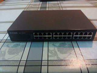 Switch Ethernet 24 puertos