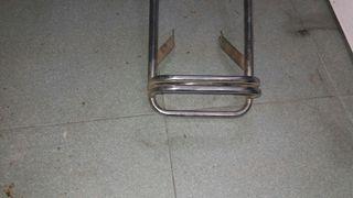 soporte trasero de muelle antiguo para moto