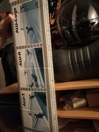 Barras de aluminio porta esquís