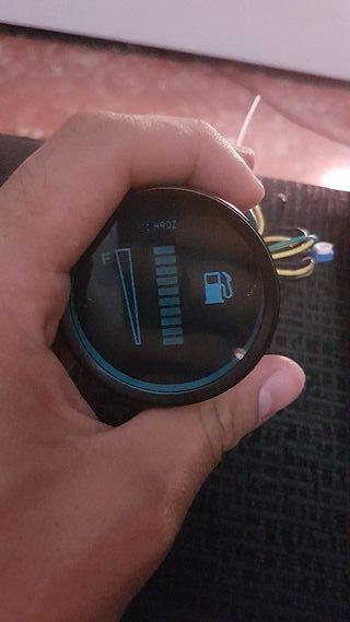 medidor gasolina universal digital led