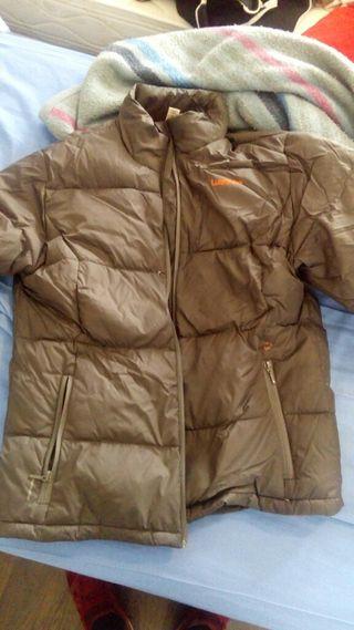chaqueta de invierno con pluma