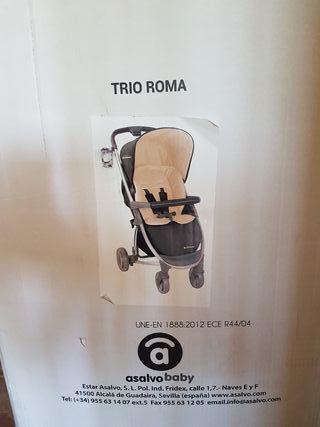 cochesito bebe trio roma asalvo