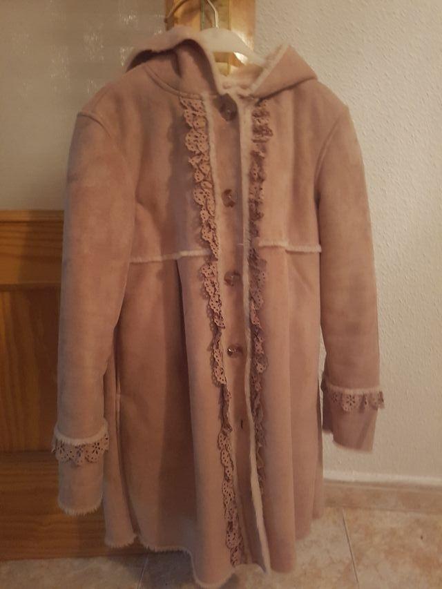 abrigo El corte ingles niña