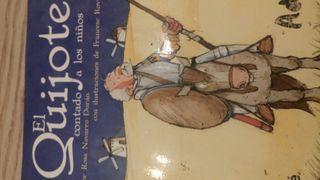Libro EL QUIJOTE (niños) ISBN 9788423684588