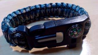 Pulsera Supervivencia Paracord