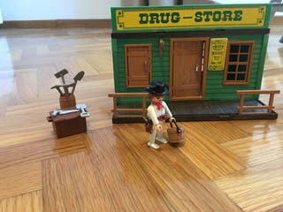 Drug store playmobil oeste/ western