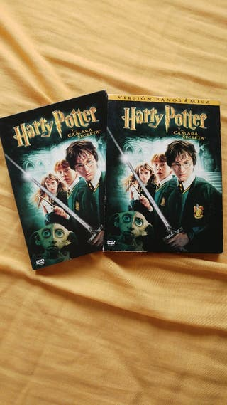 Dvd Harry Potter y la cámara secreta