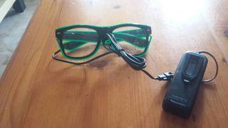 gafas con luz