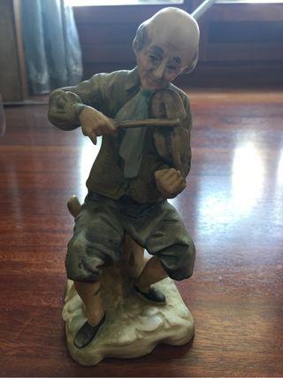 Violinista antiguo