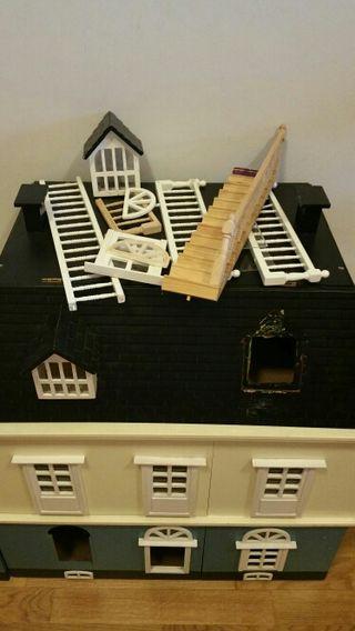 casita muñecas de madera