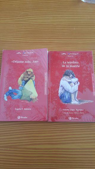 Libros de lectura 1°ESO IES Angel Corella