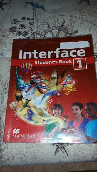 Libro de inglés Interface 1 ESO