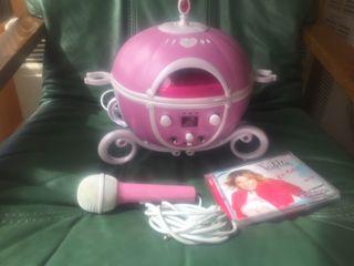 Reproductor cd karaoke Disney