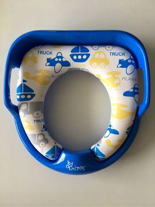 Asiento reductor bebé WC