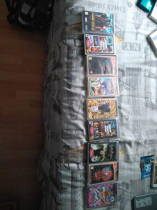 pack 9 juegos PSP (2 GTAs) precio negociable