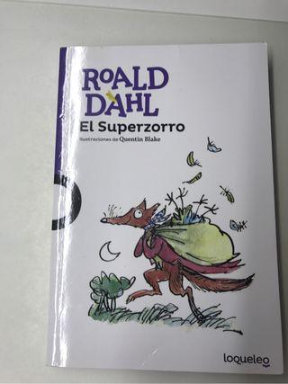 Libro lectura El Superzorro